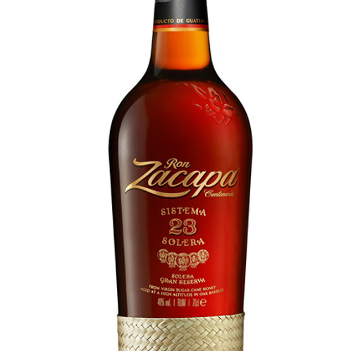 Rum Zacapa 23 years 1 L