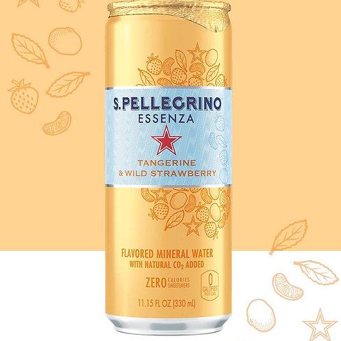San Pellegrino Essenze Tangerine and Wild Strawberry