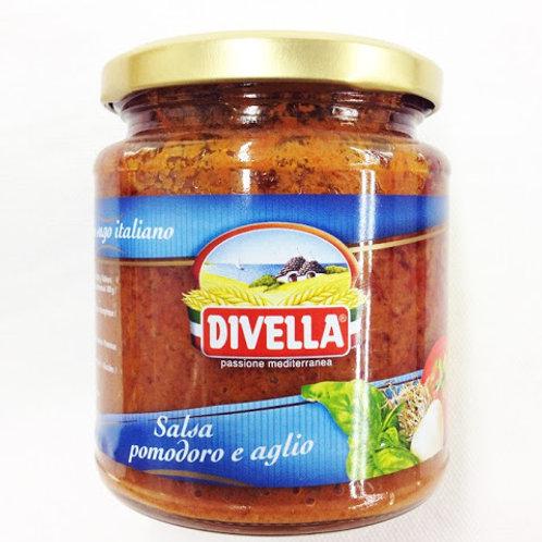 Divella Salsa di Pomodoro e aglio