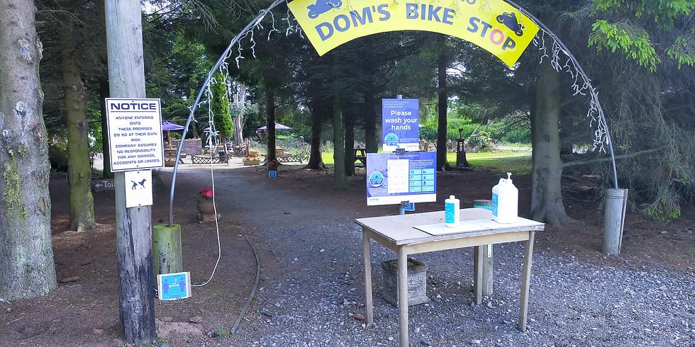 Rideout Sunday 13/6/21 - Dom's bike stop