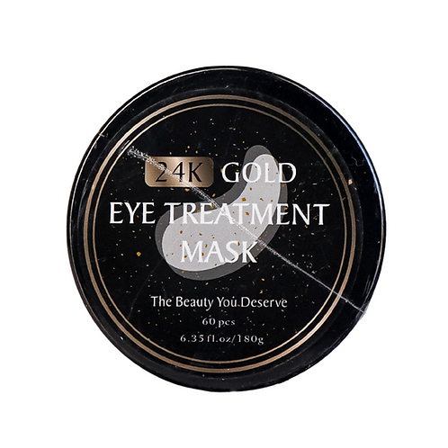 24k gold eye treatment mask