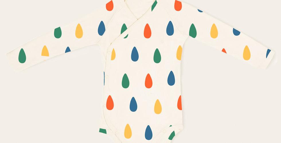 Raindrops kimono onesie full sleeves