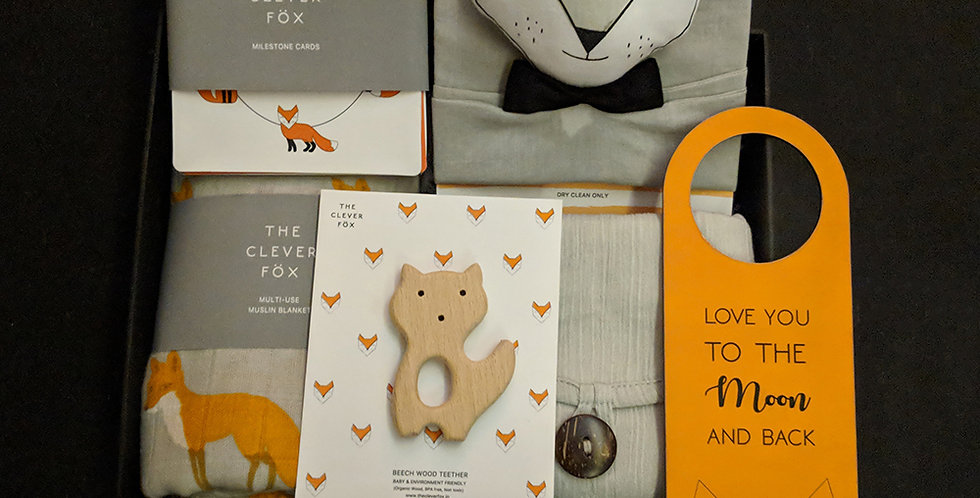 The Fox Plush Box