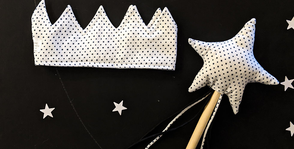 The White Crown & Wand set