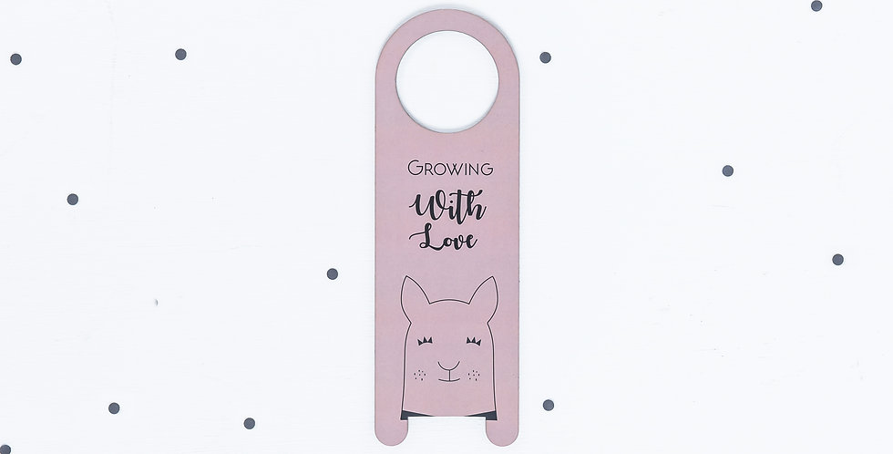 The Llama Door Hanger