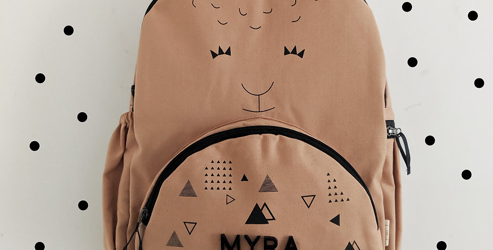 The Llama Backpack