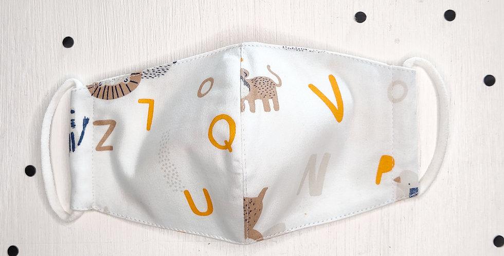 Alphabet Animals Mask