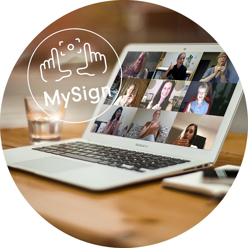 MySign NZSL Online course - Beg (Part 3)