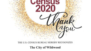 Thank you for participating! #USCensus2020