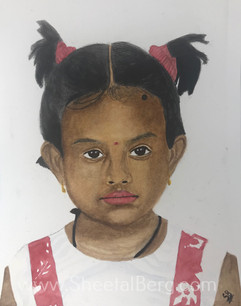 Painting of my niece