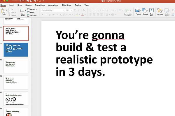 Design Sprint Introduction Slides
