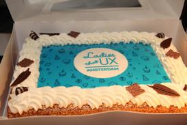 Celebrating 1st Ladies That UX Amsterdam Anniversary