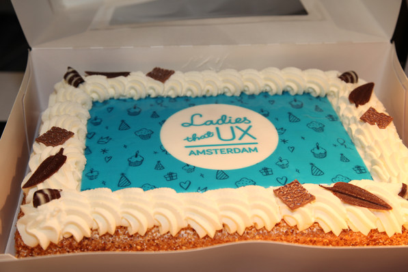 Celebrating 1st Ladies That UX Amsterdam Anniversary