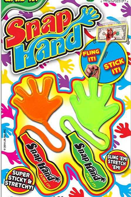 Snap Hand.................................  $1.99 retail / $1.09 cost