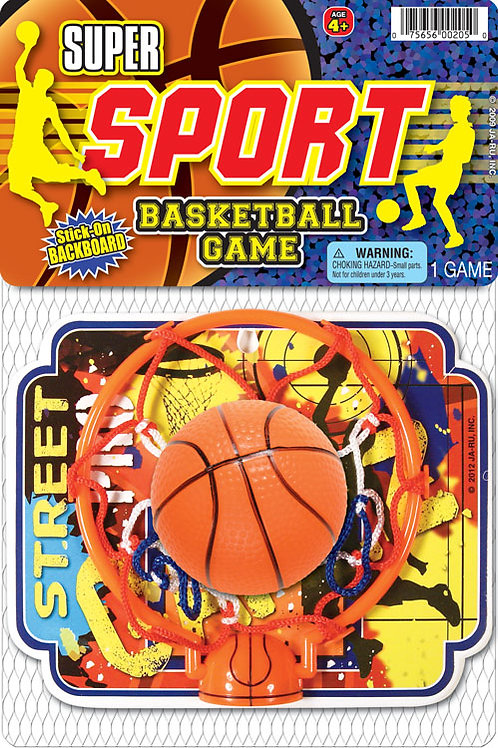 Super Sport Basket Ball..........  $2.99 retail / $1.65 cost