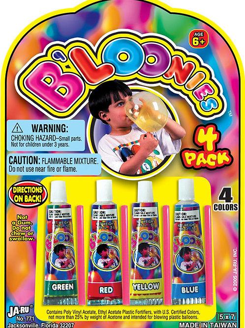 Bloonies 4pk..........................  $1.99 retail / $1.09 cost