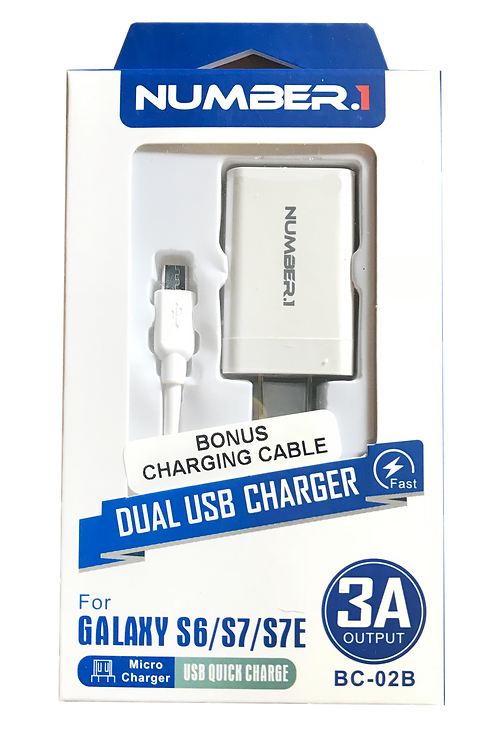 Dual USB Micro Charger............ $9.99 retail / $4.50 cost