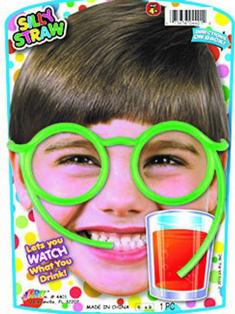 Silly Straw Glasses........................  $2.99 retail / $1.65 cost