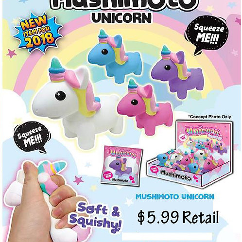 Unicorn Squeeze.......................     $5.99 retail / $19.80 case cost