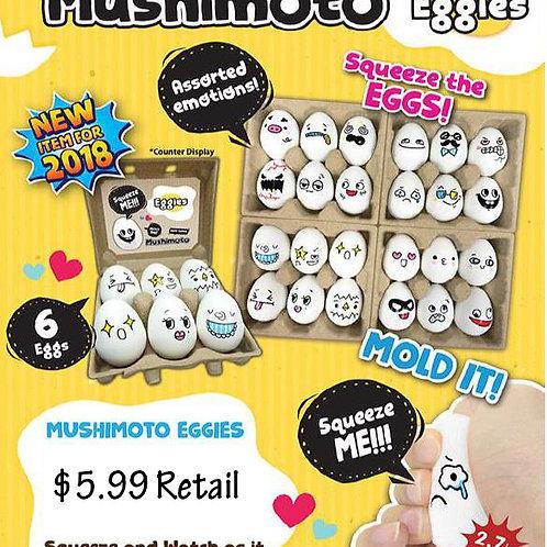 Mushimoto Eggies.........................  $5.99 retail / $19.80 case cost