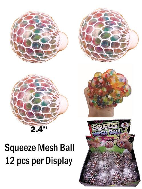 Squishy Mesh Ball 12 pcs per Display... $1.99 retail / $1.09 cost