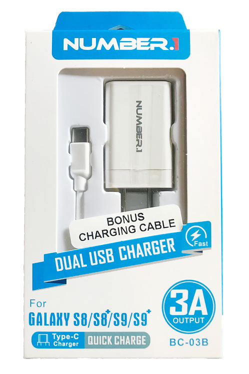 Dual USB Type C Charger........ $9.99 retail / $4.50 cost