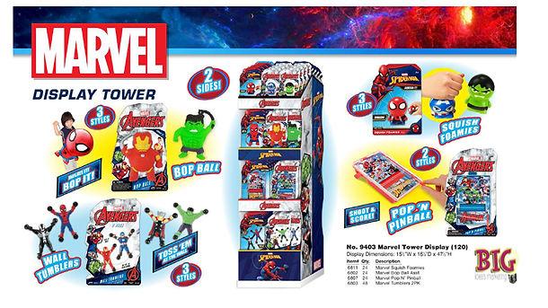 Marvel Display Tower