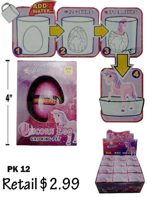 Unicorn Egg 12Pk....................... $2.99 retail / $1.65 cost ea