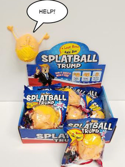Trump Splat Ball........................... $2.99 retail / $1.65 cost