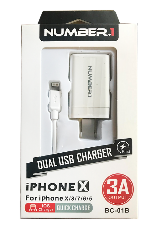 Dual USB iPhone Charger............... $9.99 retail / 4.50 cost