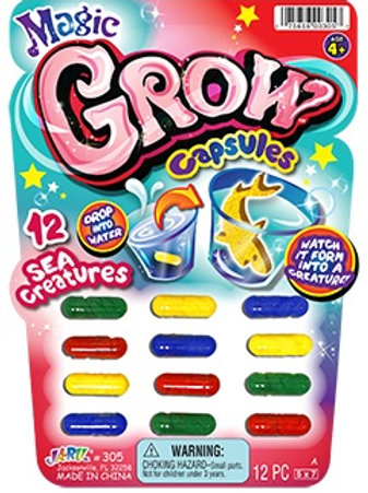 Magic Grow Capsule................. $1.99 retail / $1.09 cost
