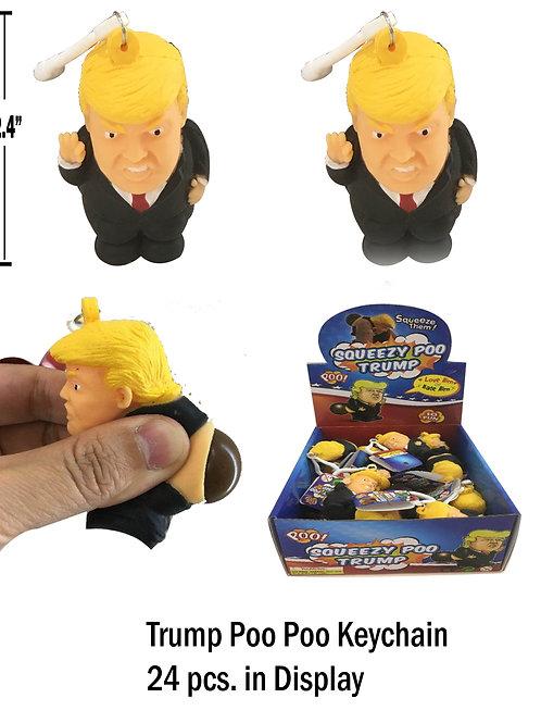 Trump Poo Poo Key Chain....... $2.99 retail / $1.65 cost