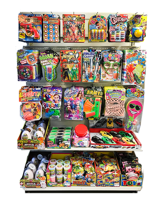 3ft.  Toy Section........................ $820.00 retail / $450.00 cost