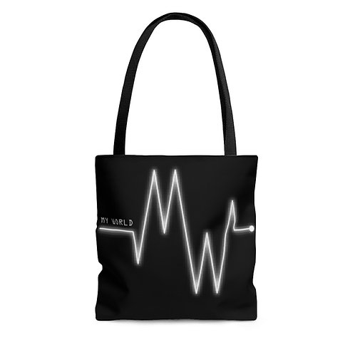 My World AOP Tote Bag