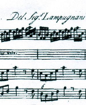 Giovanni Battista Lampugnani Composer Komponist