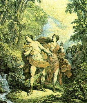 Orfeo in  Baroque Opera Graun, Bertoni, Ristori, Porpora