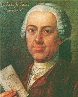 Johann Adolph Hasse Composer Komponist