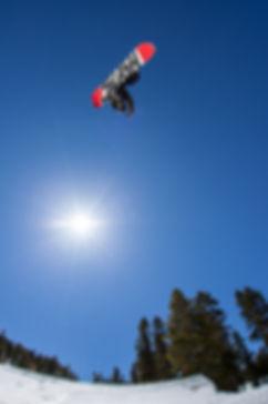 senders society snowboarding coach sam marcotte grab trick