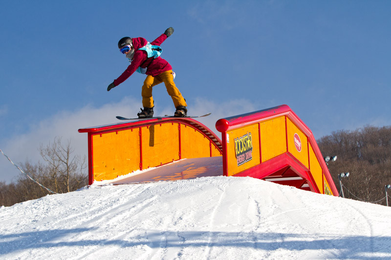 Made Gale with a front tail at Tremblant, Photo by Steve Jarret