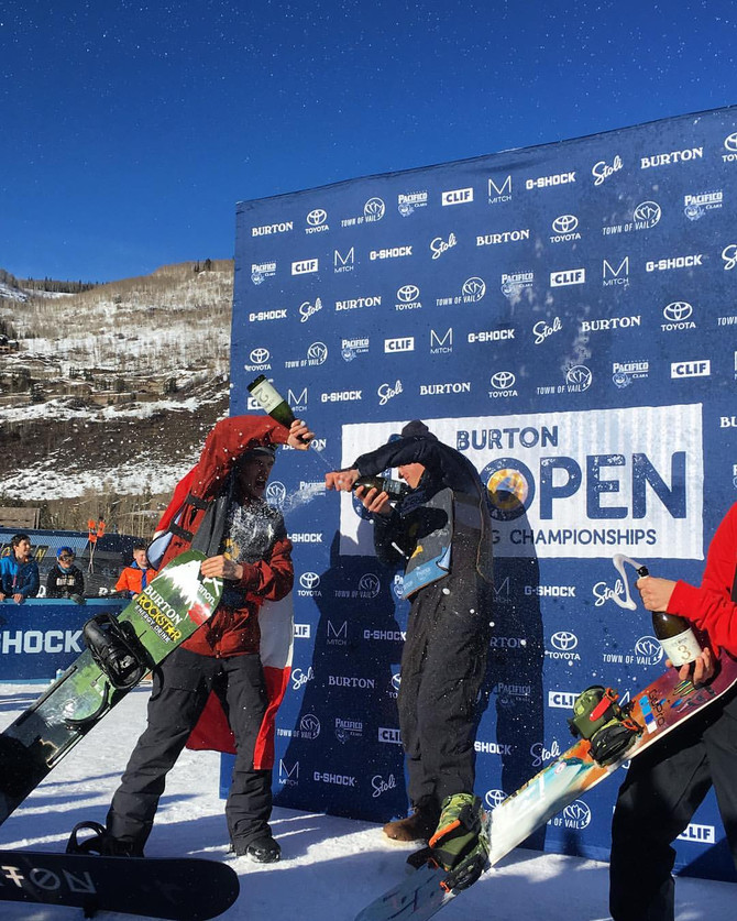 Ciccarelli takes 2nd place at Burton US Open!