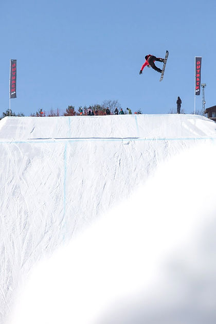 Snowboarder Patrice Poulin The Senders