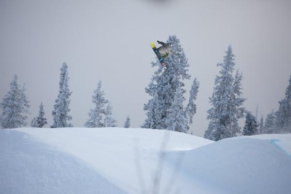 Will Buffey Spinning like a tornado up in the Yukon early season
