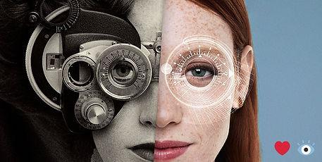 Clarifye Digital Eye Exam Old Phoropter