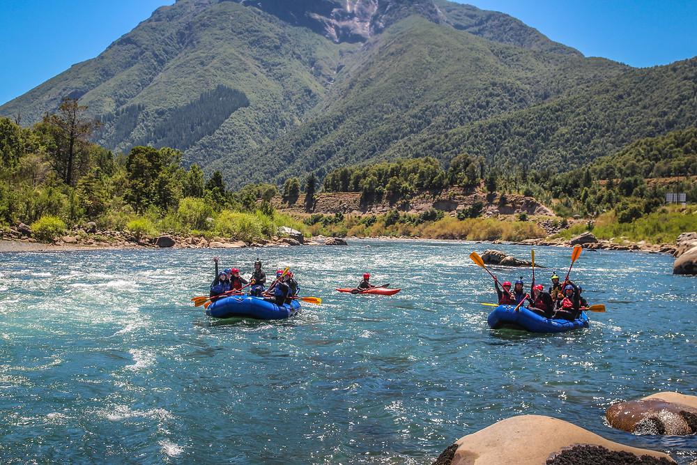Rafting río Bio Bio