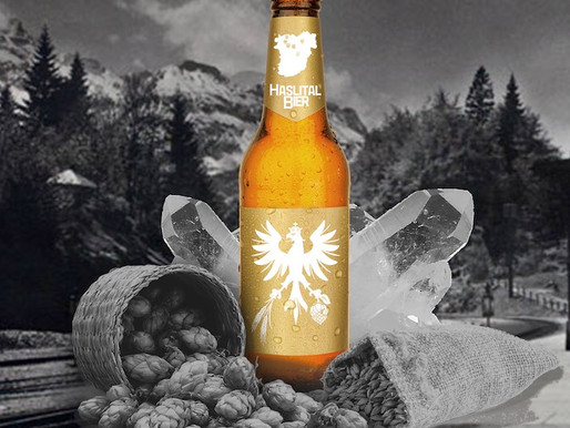 Bald fliesst das Haslital Bier