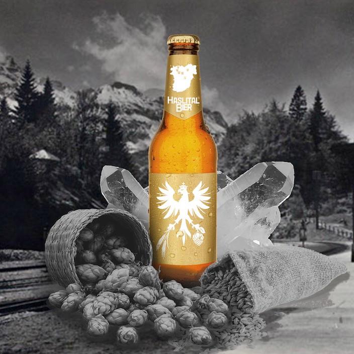 So wird das Haslital Bier aussehen. (Grafik: Christian Bachmann)