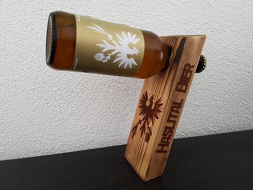Haslital Bier Ständer aus Altholz