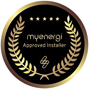 approved installer badge myenergi (zappi