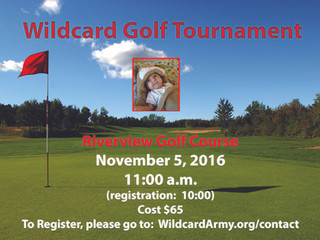 Wildcard Golf Tournament & Drink To Donate
