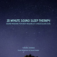 CD Cover - 20 MINUTE SOUND SLEEP THERAPY